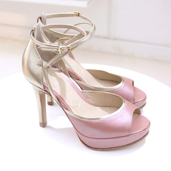 Sandałki na platformie
