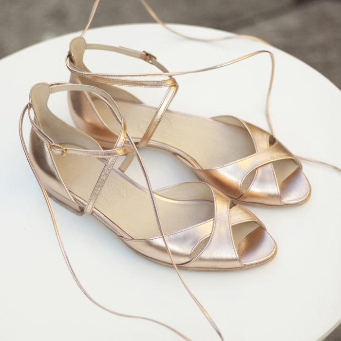 Aria płaskie sandałki